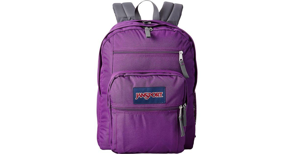 7b3aafb12 Jansport Big Student in Purple - Lyst