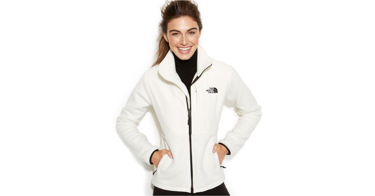 10d5c5f5b The North Face White Denali Fleece Jacket