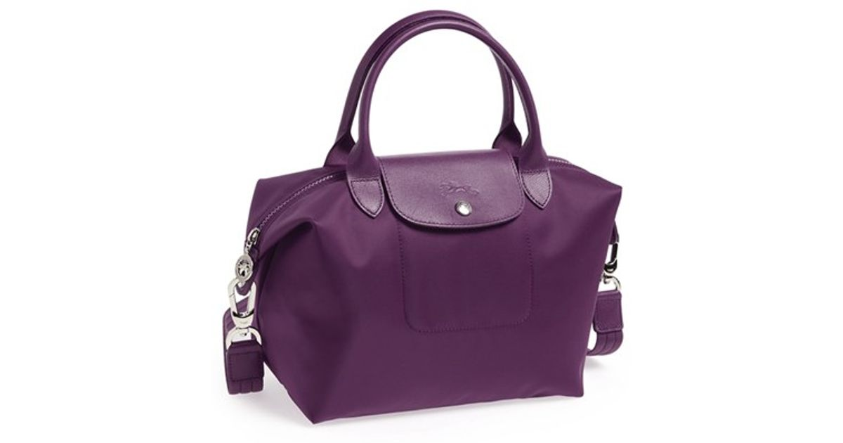 7d8df53a8e8e2 Lyst - Longchamp  le Pliage Neo - Small  Tote - Purple in Purple