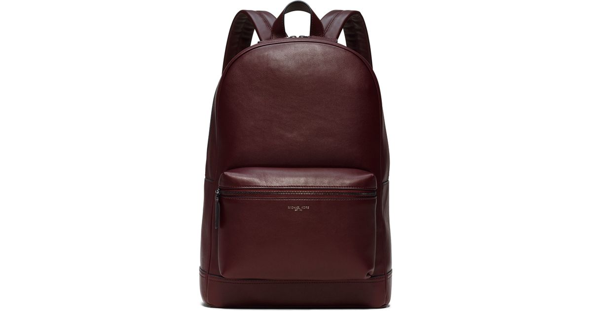 7d0a44a1cd32 ... men 86772 ad34c; denmark lyst michael kors dylan leather backpack in  purple c2554 b781d