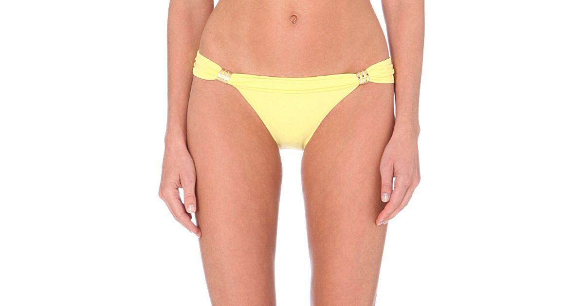 f5ff844f62 Melissa Odabash Grenada Bikini Bottoms - For Women in Yellow - Lyst