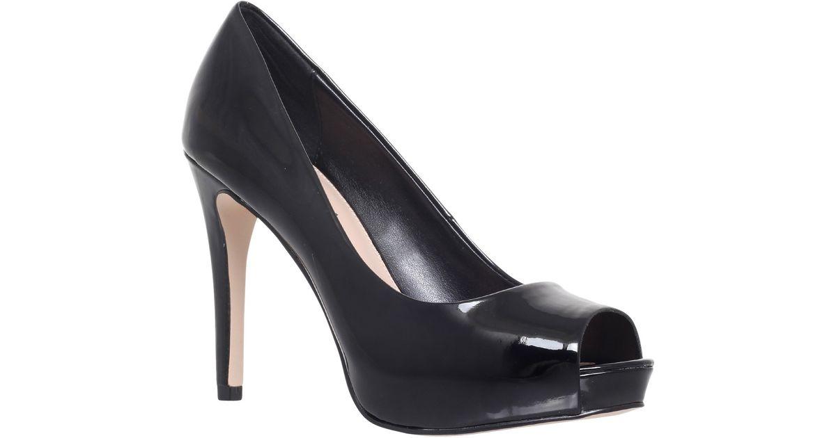 carvela black court shoes closeout
