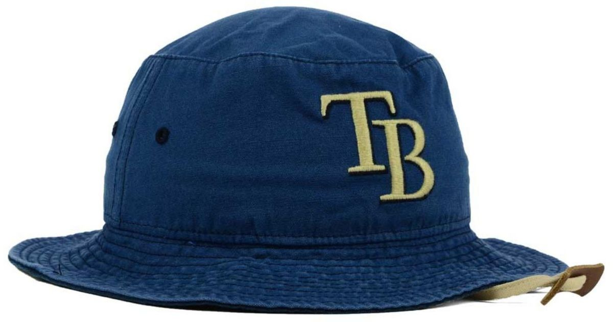 197aa8ef 47 Brand Tampa Bay Rays Fever Dog Bucket Hat in Blue - Lyst