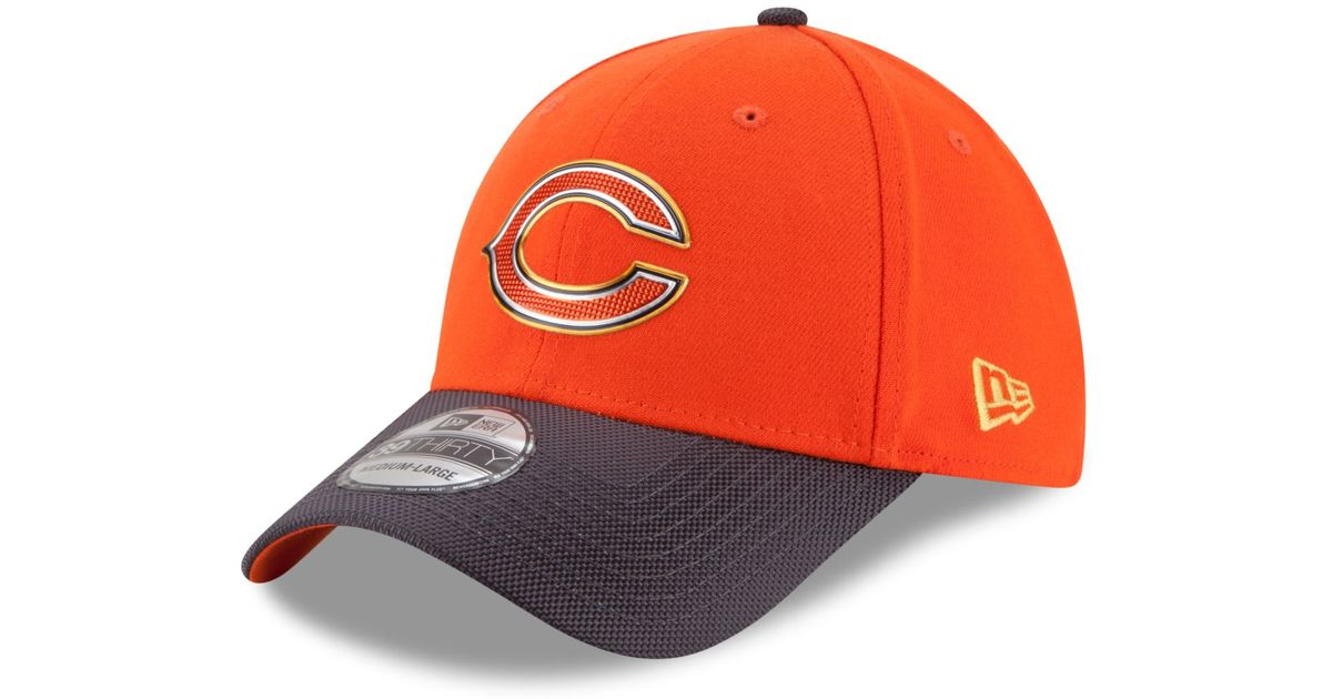 Lyst - KTZ Chicago Bears Gold Collection On-field 39thirty Cap in Orange  for Men 7f2933bc7a62