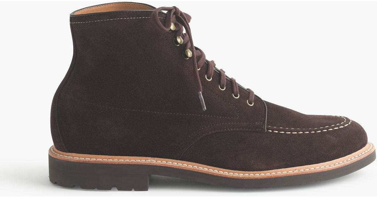 3b0a63c2a05 J.Crew Brown Kenton Suede Pacer Boots for men