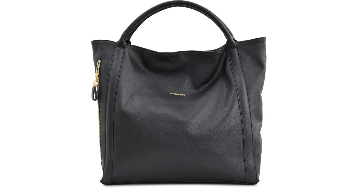 475a754adb1 Lyst - See By Chloé Harriet Tote in Black