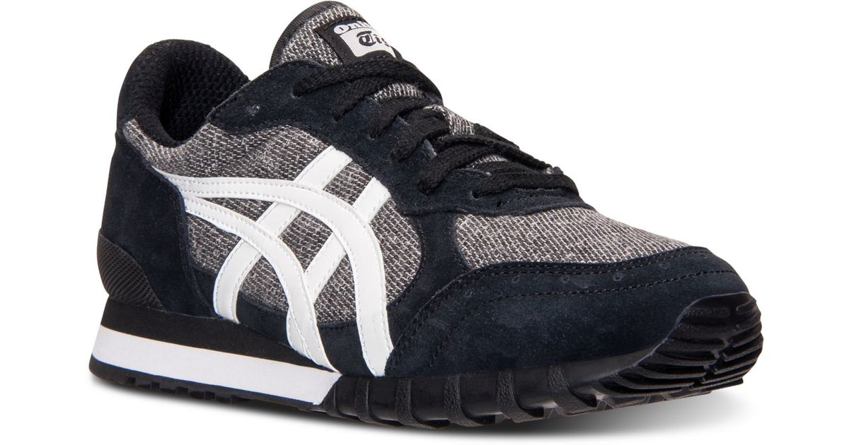various colors 2ce01 2434c Asics Black Men'S Onitsuka Tiger Colorado 85 Tweed Casual Sneakers From  Finish Line for men