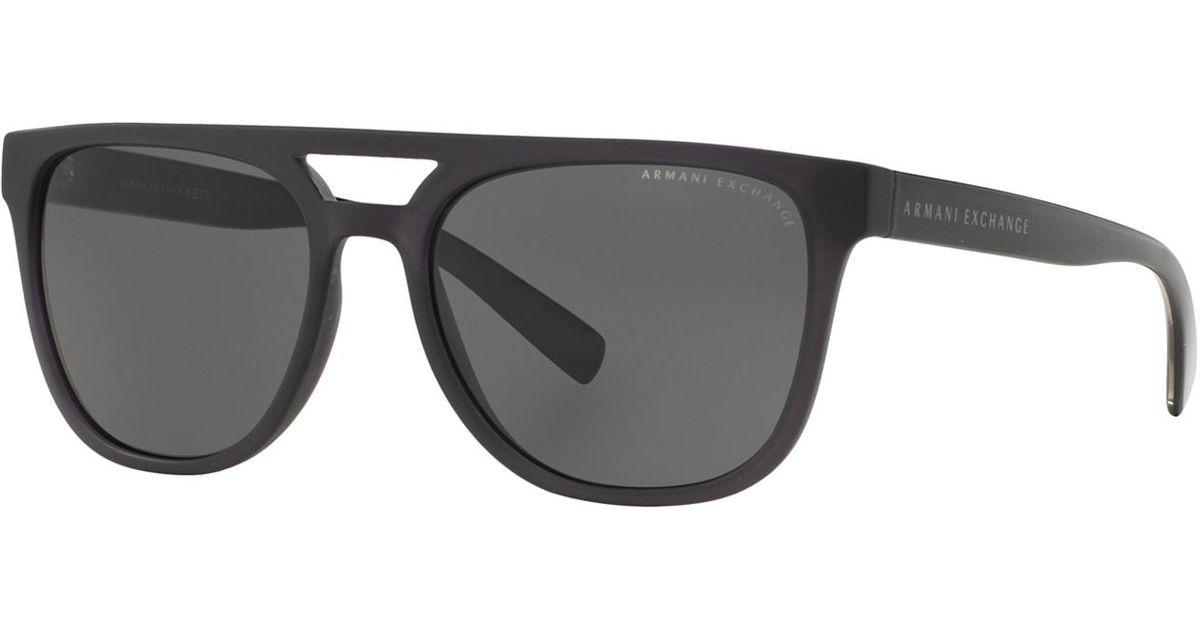 2a355bc32f5 Armani exchange Sunglasses in Black for Men