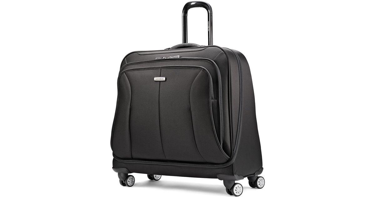 63c91cade930 Samsonite Black Hyperspace Xlt Spinner Garment Bag for men