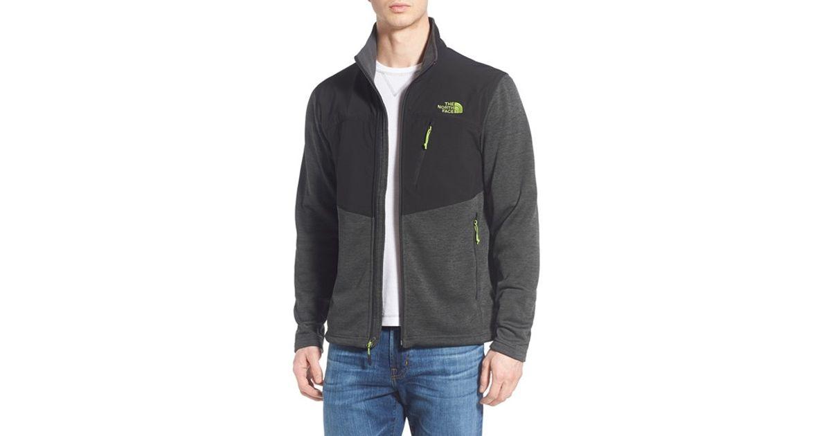 221f06c8e The North Face Green 'norris' Fleece Jacket for men