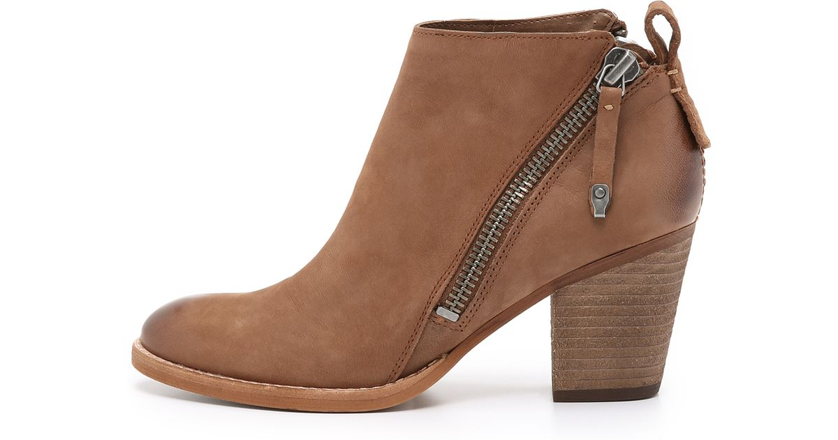 f2e9cc98096 Dolce Vita Brown Jaeger Booties