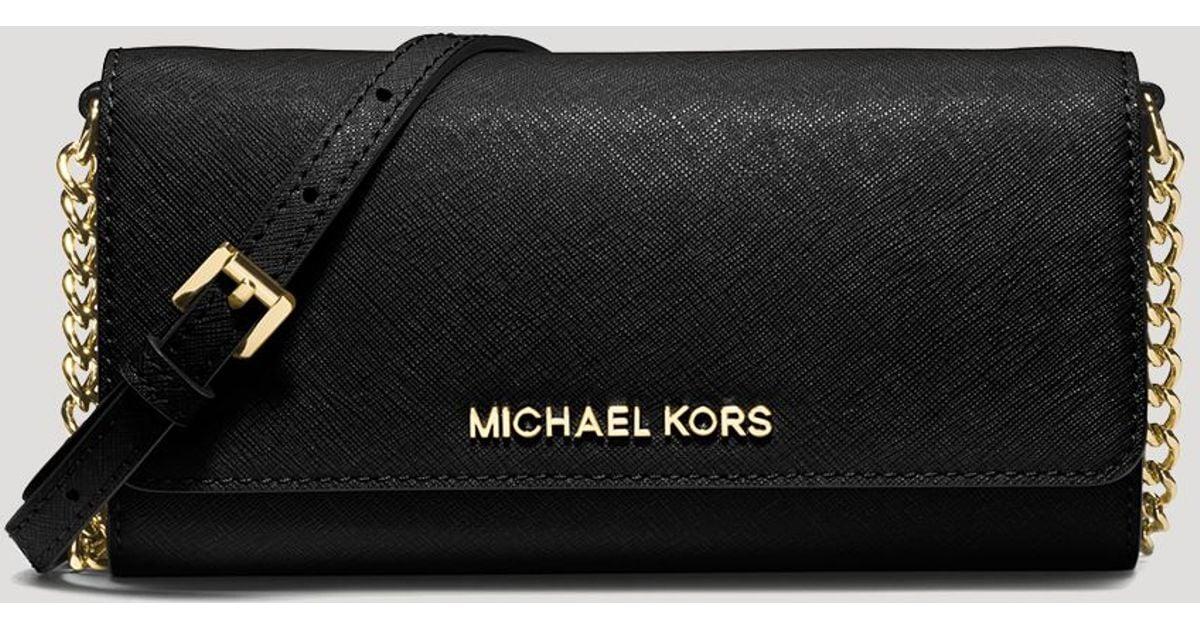Michael Michael Kors Crossbody Jet Set Travel Wallet On