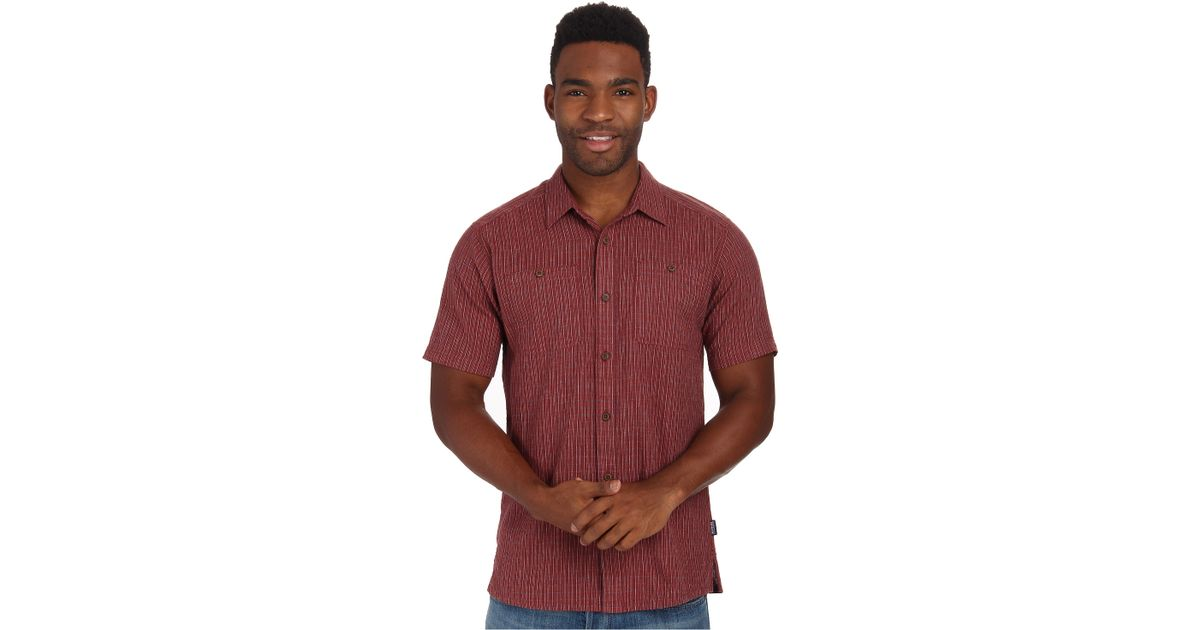 Patagonia Back Step Shirt in Red for Men | Lyst