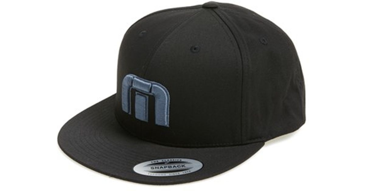 ... hats e6372 525d1 official store lyst travis mathew keegan baseball cap  in black for men 2e13c e3a11 ... e05733912ff1