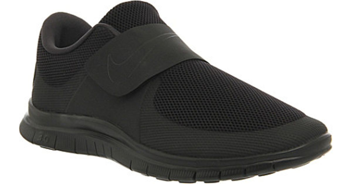 594477918266 Nike Free Socfly Trainers - For Men in Black for Men - Lyst