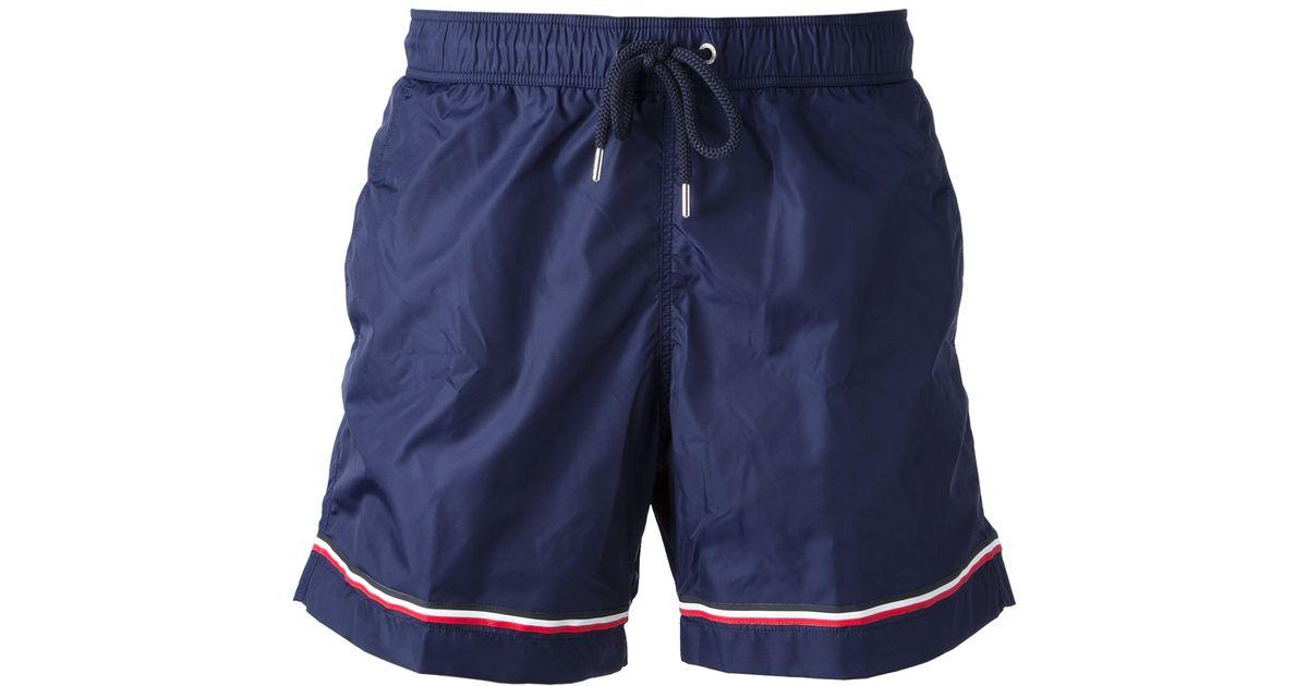 New Moncler swim trunks l us light blue pants - Men's Moncler Clothing   outlet online .