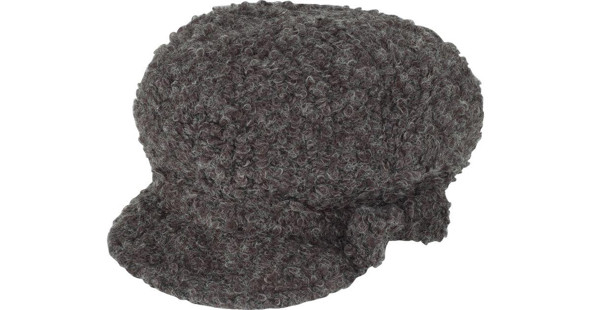 fd7daf36 John Lewis Wool Baker Boy Hat in Gray - Lyst
