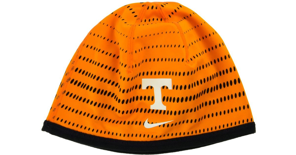 online retailer 81343 bb059 Lyst - Nike Tennessee Volunteers Training Knit Hat in Orange for Men