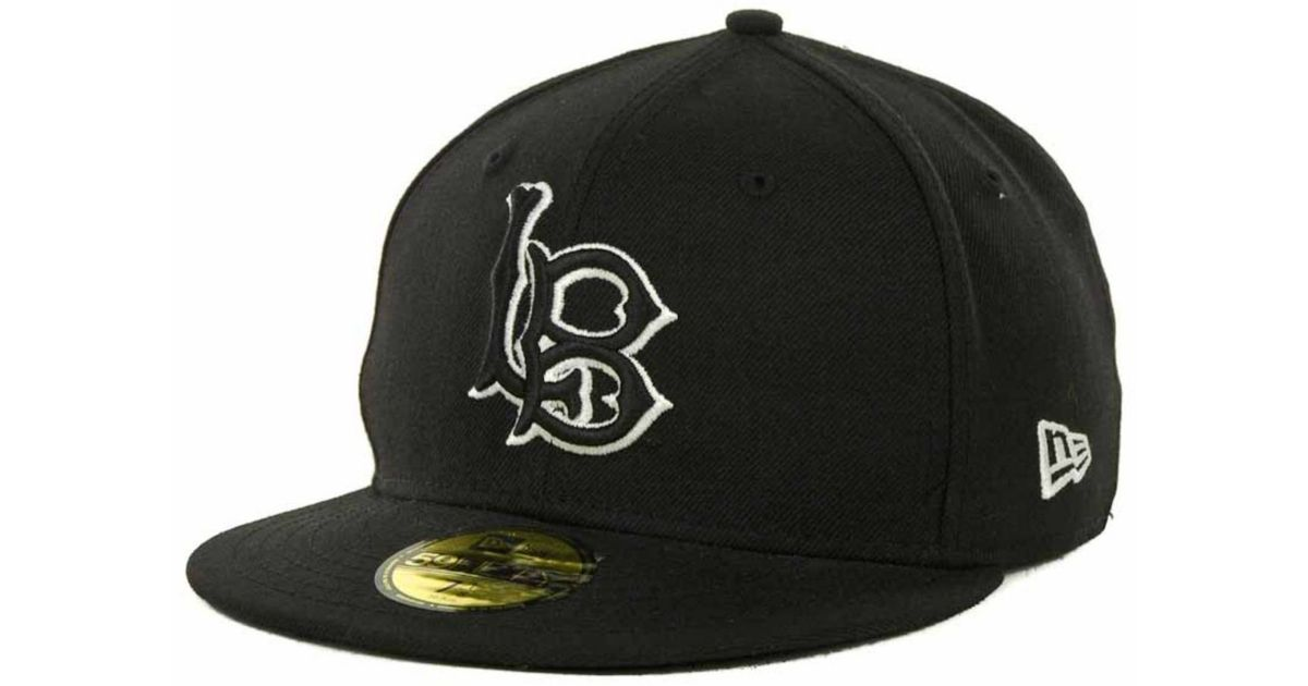 Ktz Long Beach State 49ers Black On Black With White