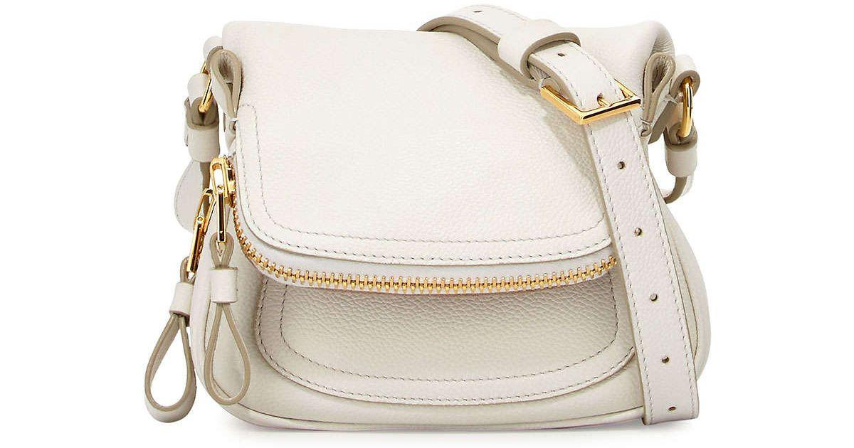 4043d4b0841 Lyst - Tom Ford Jennifer Mini Cross-Body Bag in White