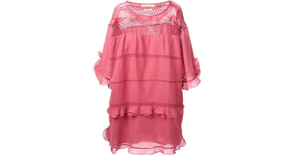 2afbfd04b9 Lyst - Étoile Isabel Marant  Cassy  Dress in Pink