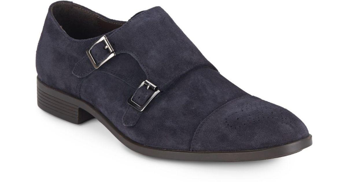 Saks Mens Monk Strap Shoes