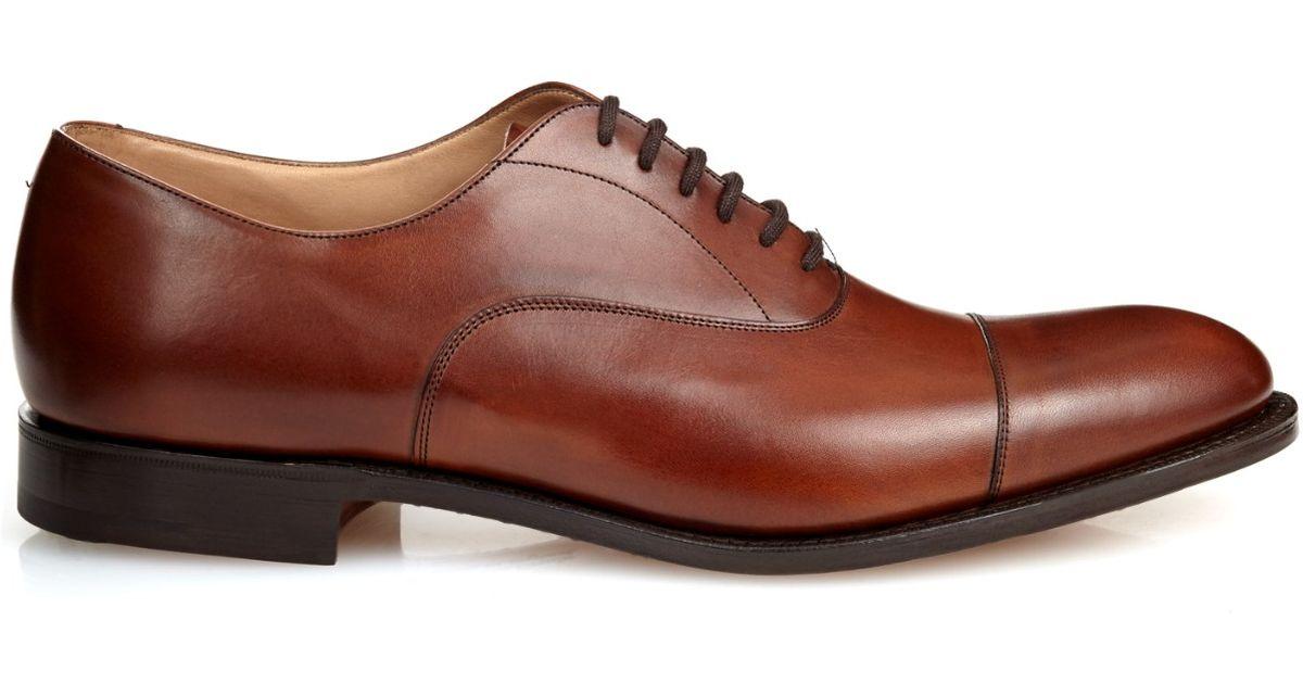f9c47ba3e87 Church's Brown Dubai Leather Oxford Shoes for men