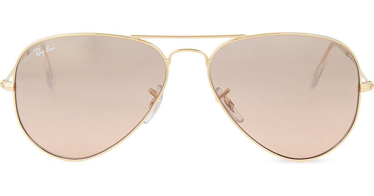 Ray-ban Original Aviator Metal-frame Sunglasses Rb3025 58 ...