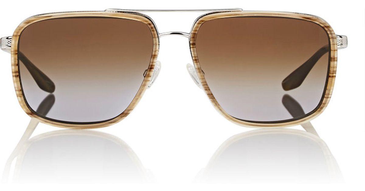 Lyst - Barton Perreira Brasco Sunglasses in Brown for Men