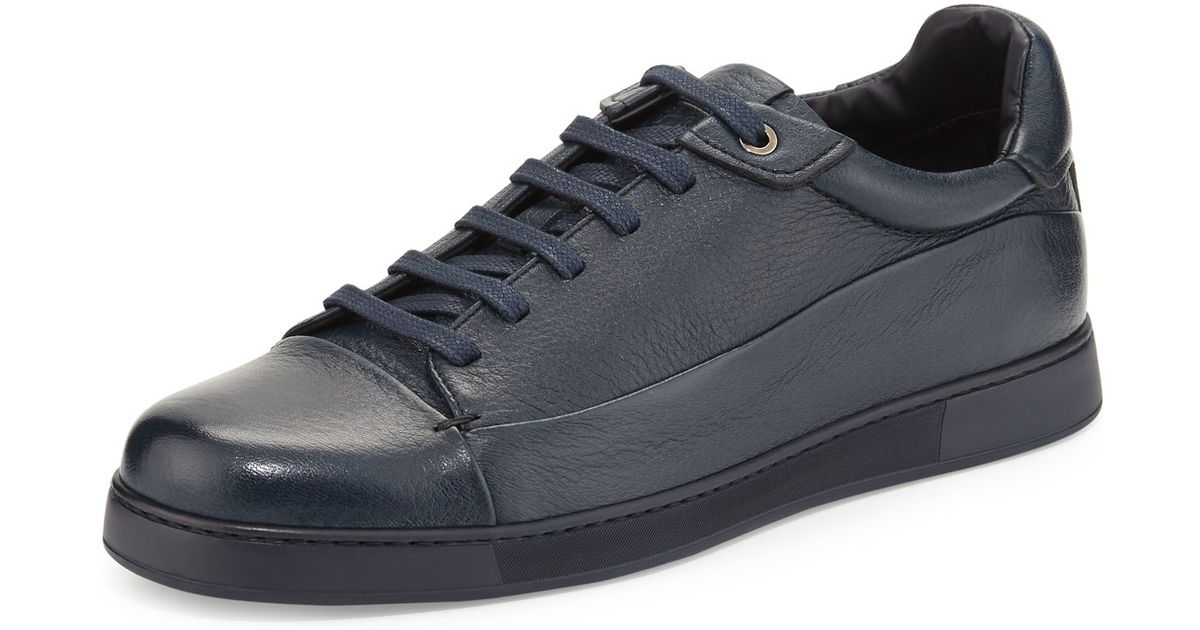Ermenegildo Zegna Leather Low-top