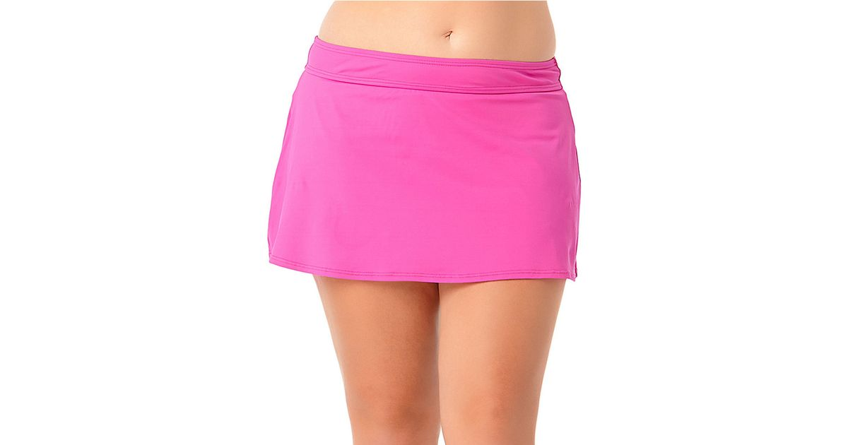 Pink Swim Skirt 21