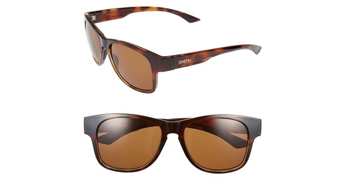 546d603602d Lyst - Smith Optics  wayward - Chromapop(tm)  54mm Polarized Sunglasses -  Havana  Brown in Brown for Men