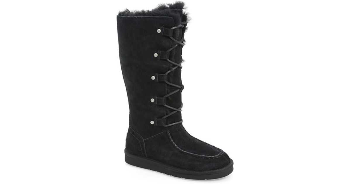 798e893d8cd best price ugg suede lace up boots cd74c bfbb9