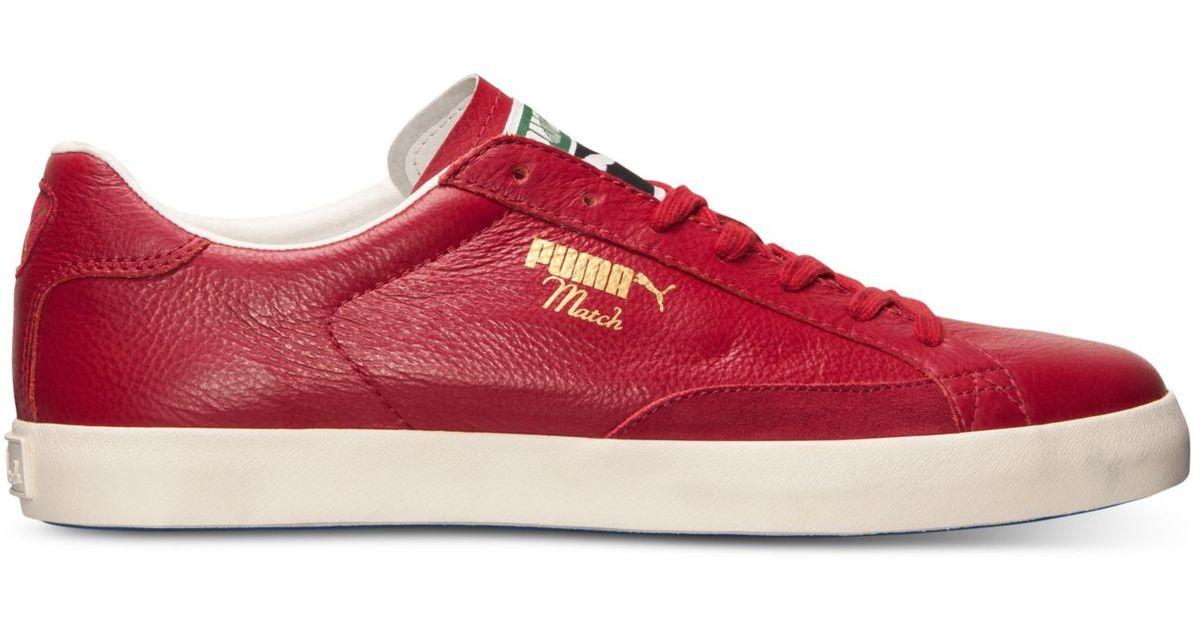 puma match red