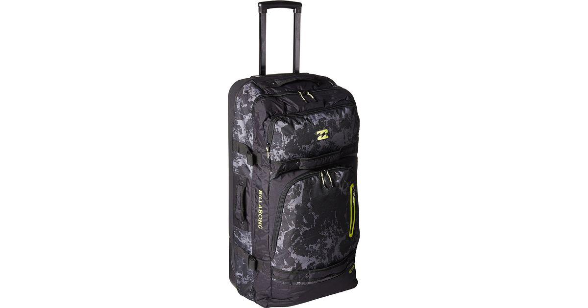 1952a3b6b5e1 Billabong Black Booster Travel Bag for men