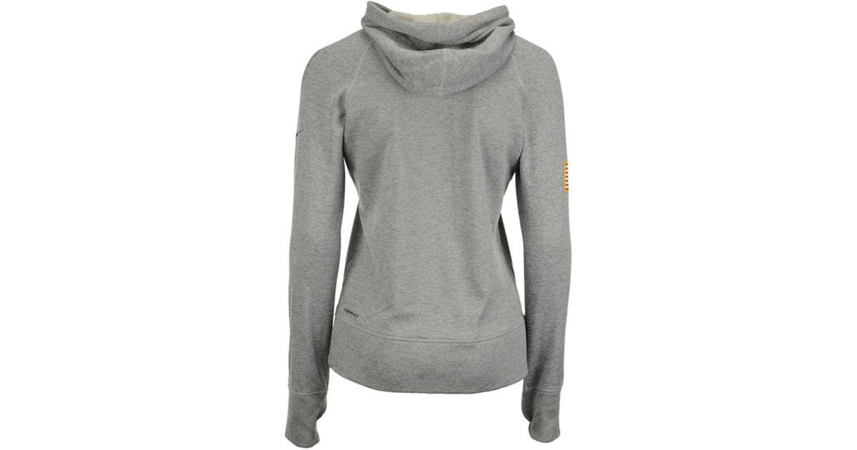 online retailer 44c5f c07c1 Nike Gray Women's Green Bay Packers Salute To Service Hoodie