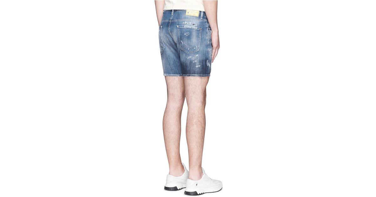 Drop Crotch Shorts For Men Nuji