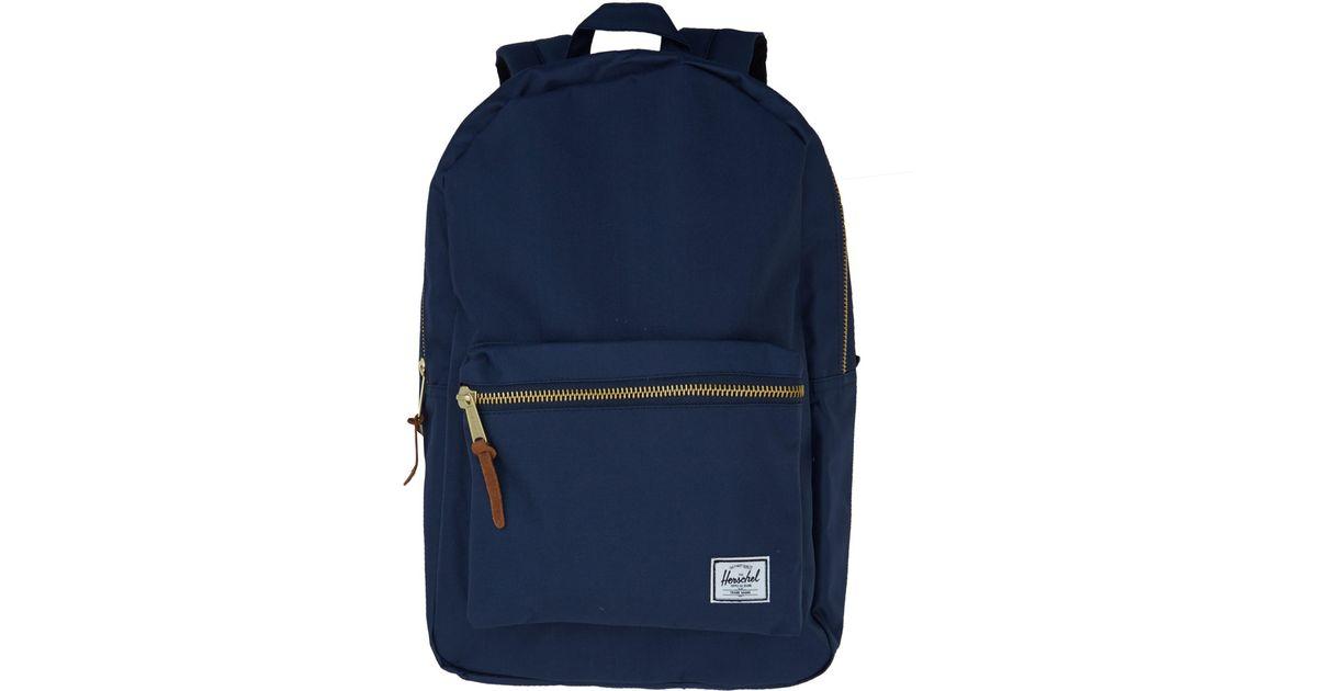 7fb0c8f2709 Herschel Supply Co. Navy Settlement Backpack in Blue for Men - Lyst