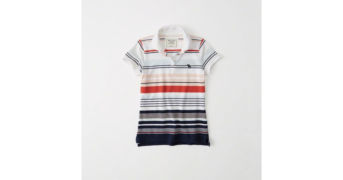 e35ce7bc Lyst - Abercrombie & Fitch Classic Polo for Men