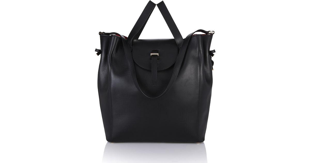 b86a833ab9d9 Lyst - meli melo Fleming Tote Bag In Black in Black