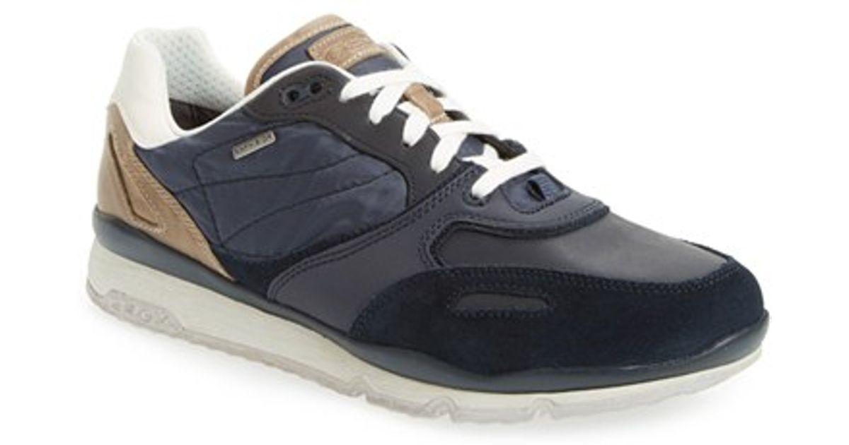 Geox Blue 'sandro Abx' Amphibiox Sneaker
