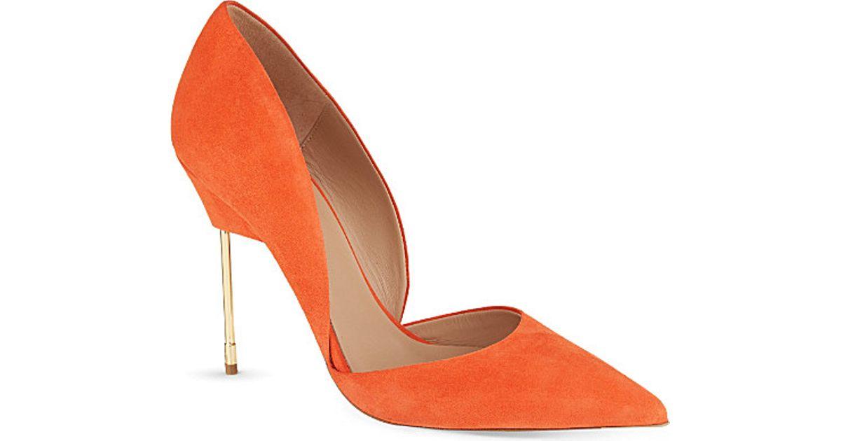 9e5e3f50e2ce Kurt Geiger Bond Court Shoes - For Women in Orange - Lyst
