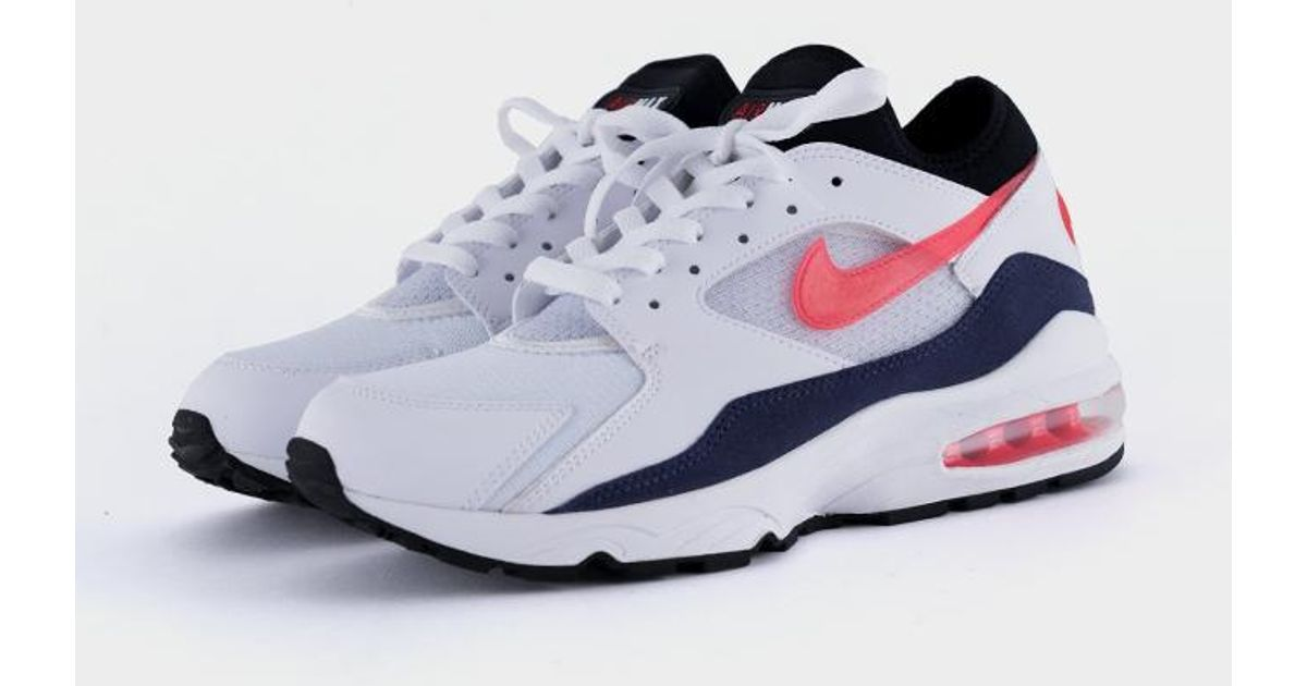 cheap for discount 2014b a7bd4 Nike Air Max 93 Habanero Red for Men - Lyst