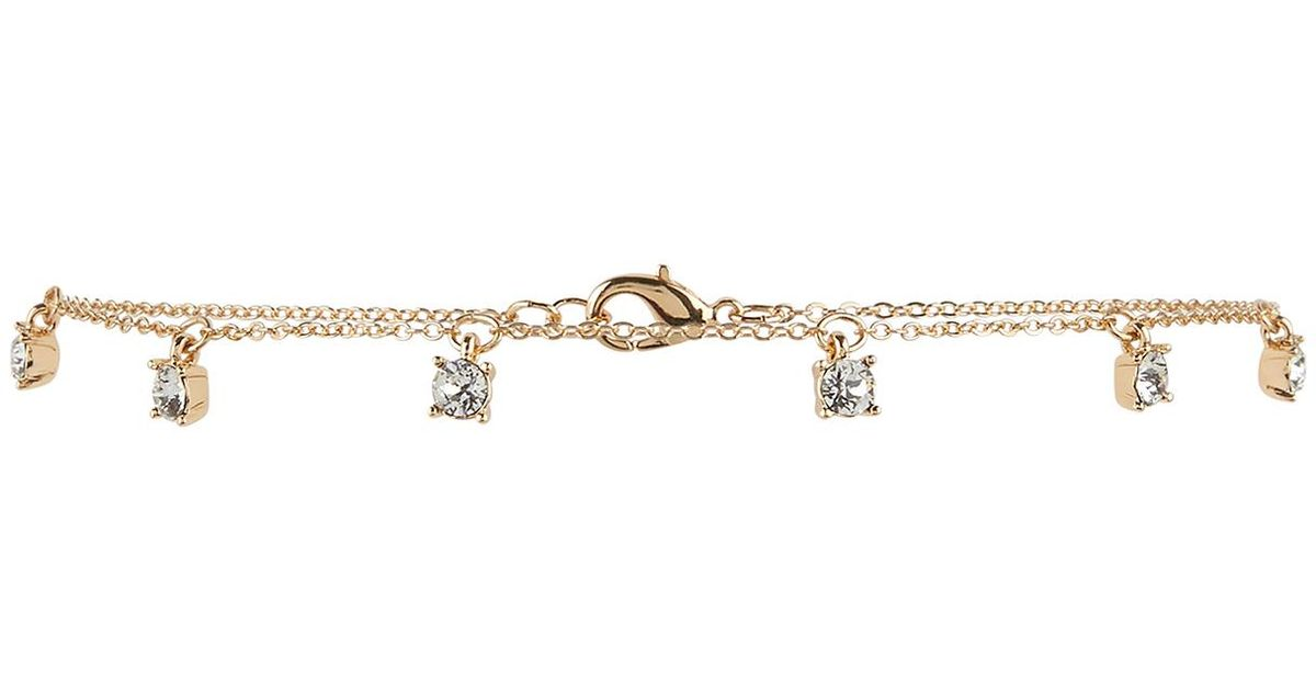 474fb9836b763 Accessorize Metallic Drops Choker Necklace With Swarovski® Crystals