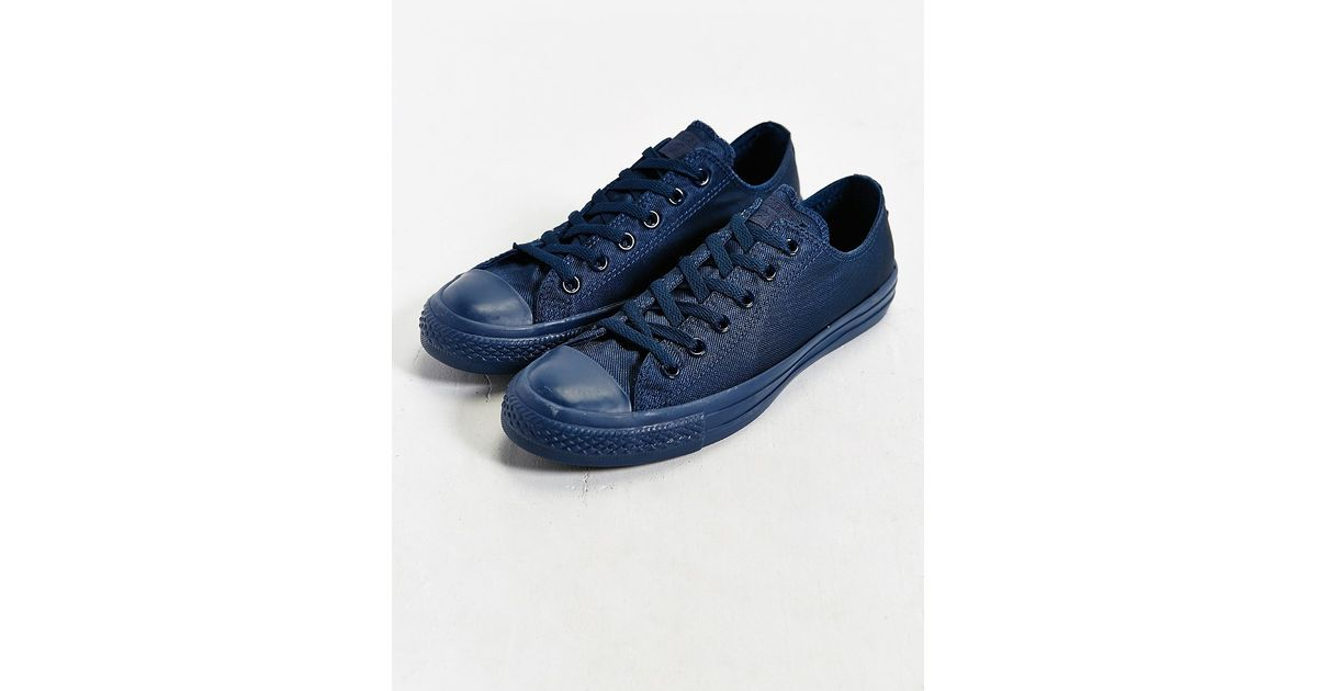 c52b877622d931 Lyst - Converse Chuck Taylor All Star Mono Low-top Sneaker in Blue for Men