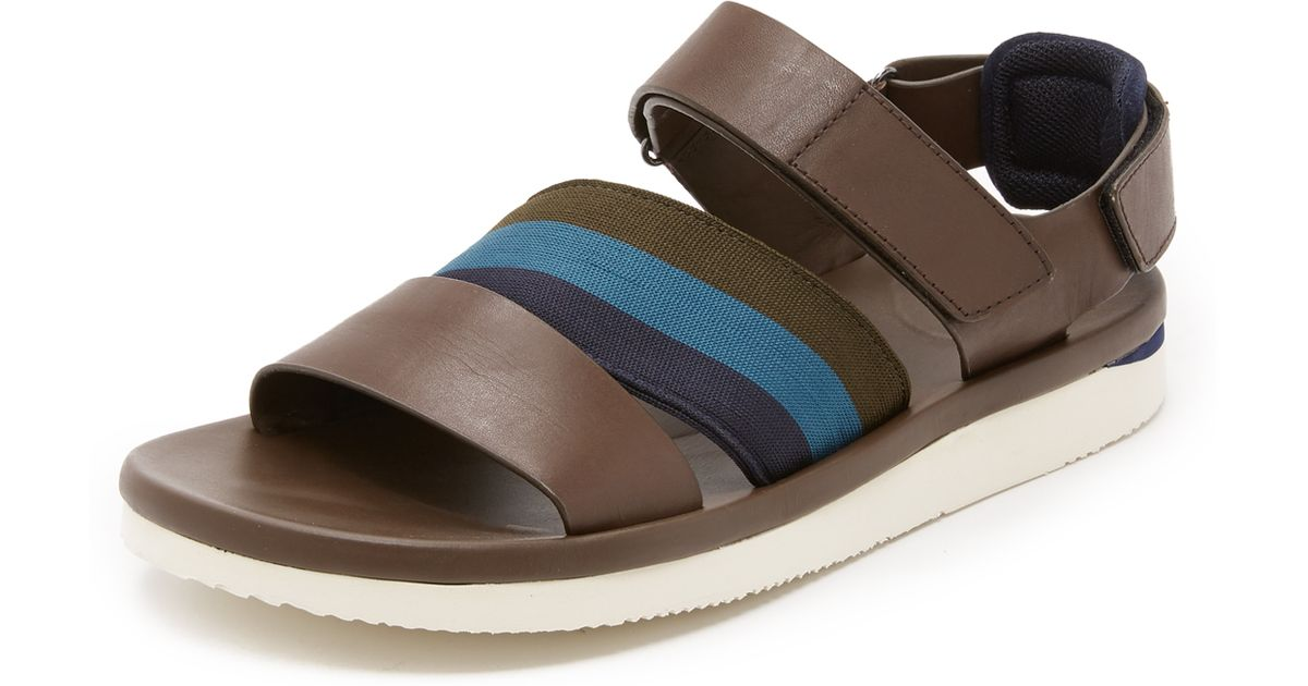 Brown Sandals Paul Men Smith Bowler For IygvfYb76