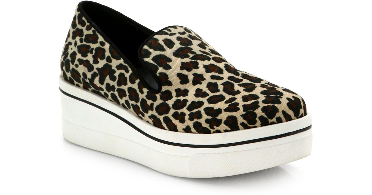 Stella McCartney flatform leopard sneakers clearance visit from china online the cheapest for sale reliable online lBjngCnb