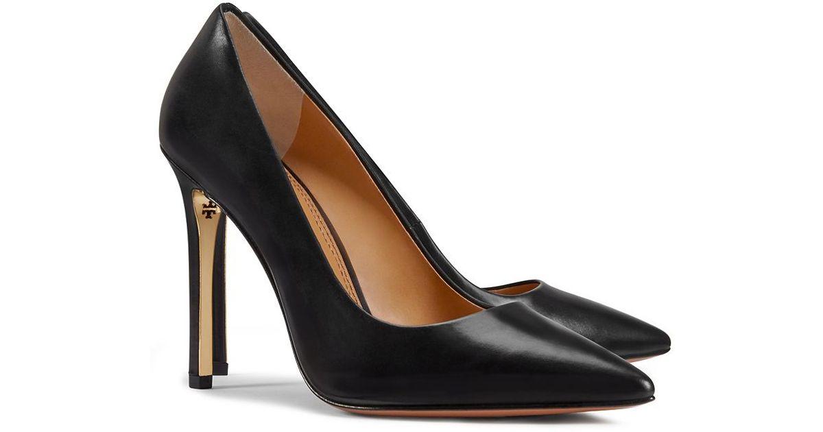 Tory Burch Leather Elana High-heel Pump