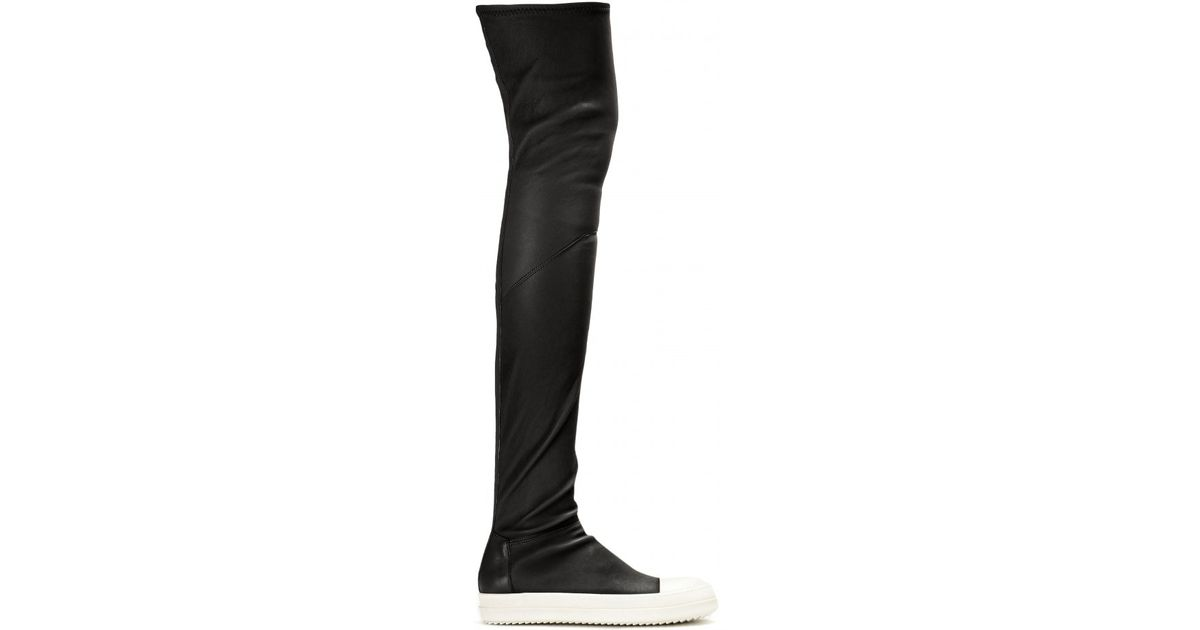 Outlet Get To Buy Sale Authentic Over-the-knee sock sneakers Rick Owens PHlWFRf