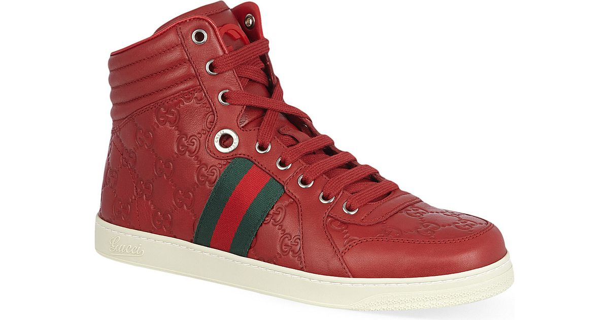 gucci red trainers off 52% - www.ncccc